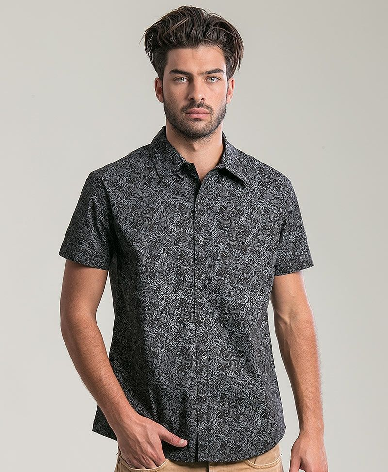 psychedelic clothing mens button up shirts tails