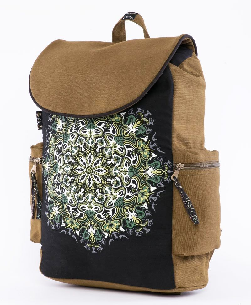 psychedelic clothing laptop backpacks