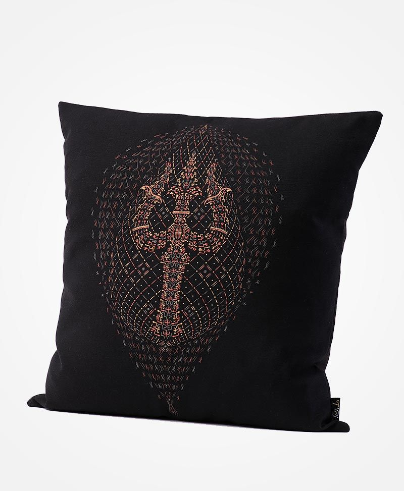 psychedelic-trishul-pillow-cover-cushion-case