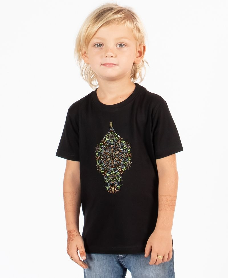 psychedelic-cool-kids-t-shirt-birthday-gift-mandala-black