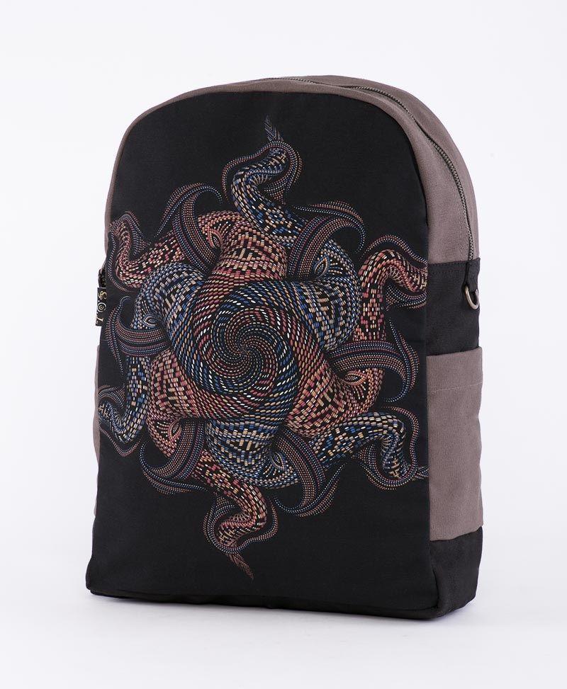 round-canvas-backpack-laptop-bag-tribal-mandala