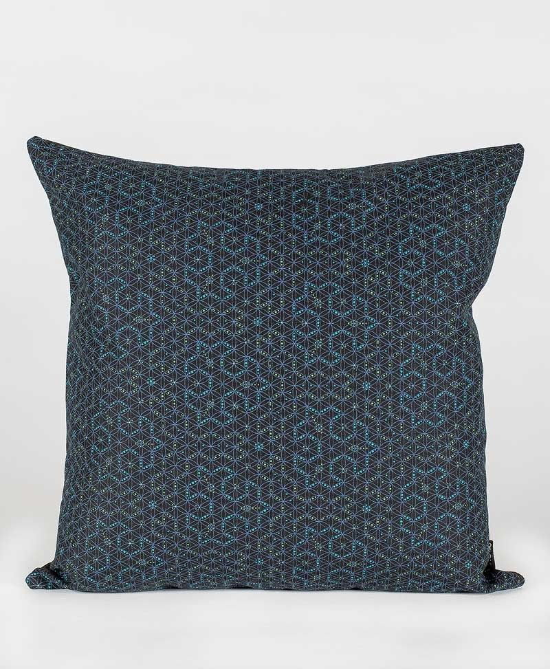 Psytrance Fashion Clothing Sacred Geometry Cushion Pillow Cover Seed Of Life