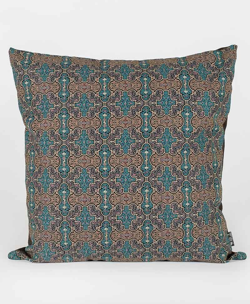 Psytrance Fashion Clothing Sacred Geometry Cushion Pillow Cover Shipibo