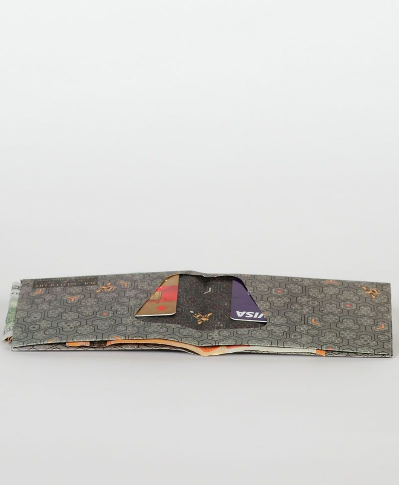 bee-hive-honeycomb-slim-paper-tyvek-wallet-thin-wallet-for-men-vegan-gift