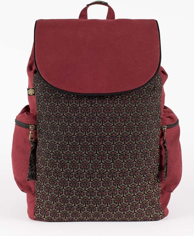 canvas-laptop-backpack-flap-cubicle-red-black