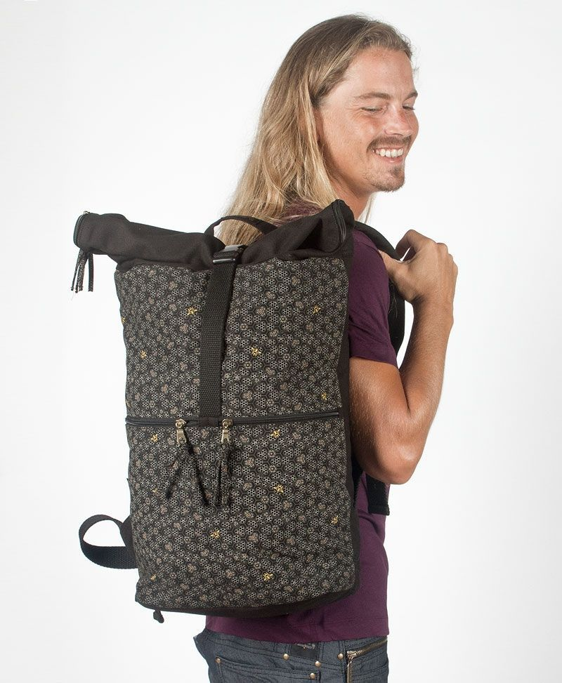 canvas-roll-top-backpack-laptop-bag-travel-beehive