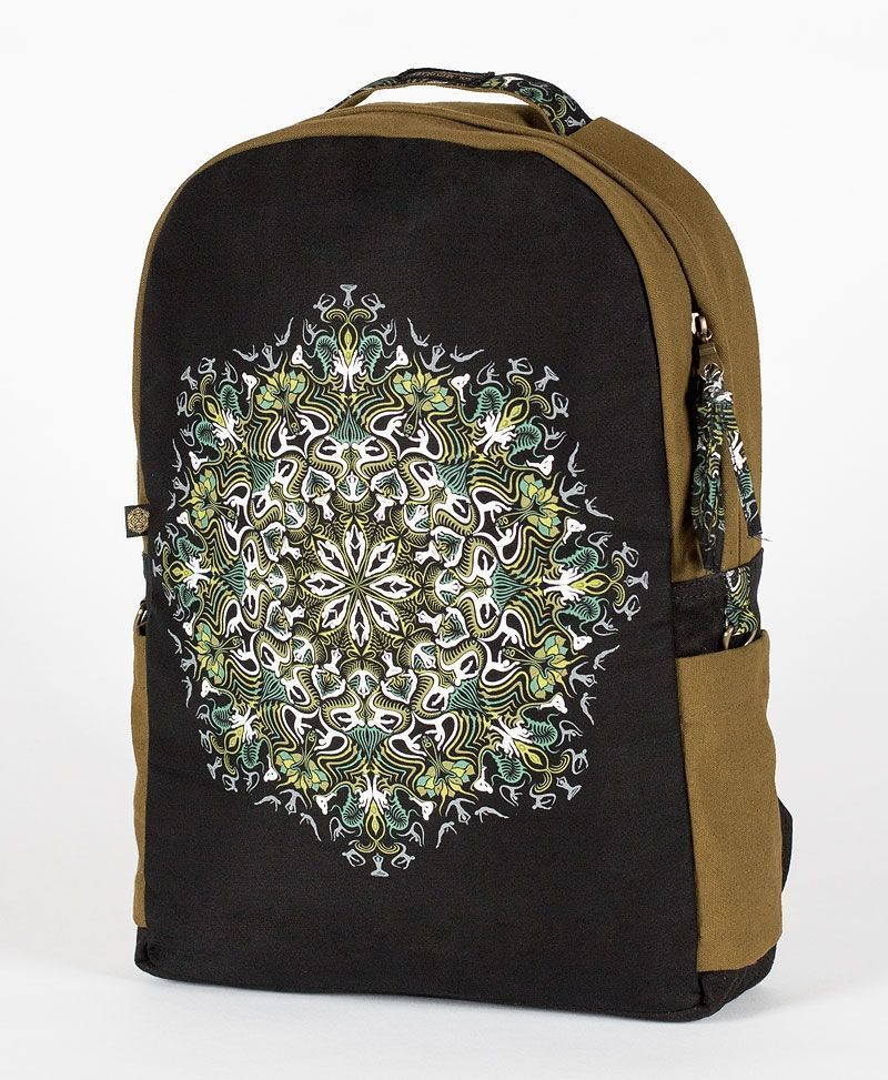 festival-mandala-backpack-round -canvas-laptop-bag-tribal-11