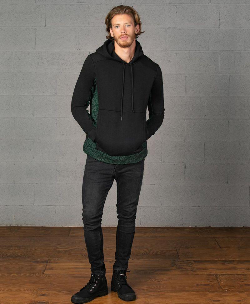 flower of life pullover hoodie sweatshirt sacred geometry