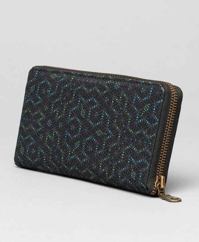 sacred geometry wallet for women flower of life