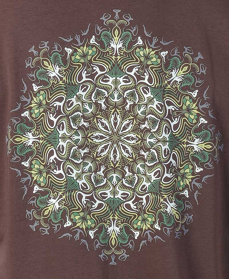 psychedelic t shirt men clothing