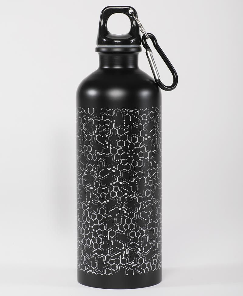 stainless steel drink bottle with snap hook