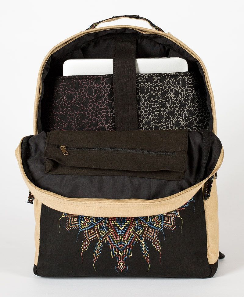 mandala-round-backback-laptop-bag-canvas-tribal