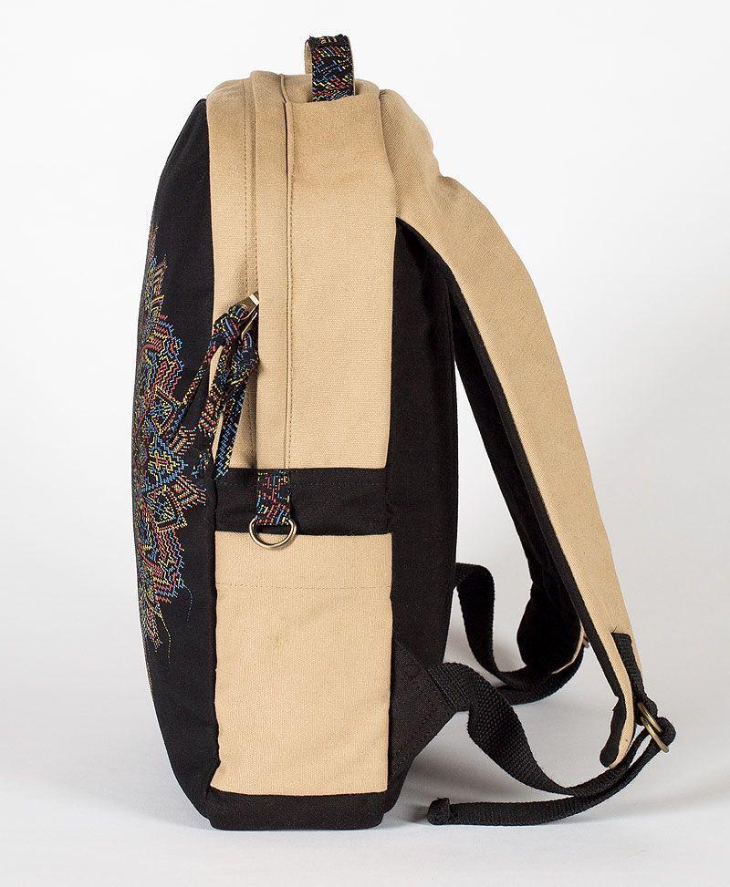 mandala-round-backback-laptop-bag-canvas-tribal
