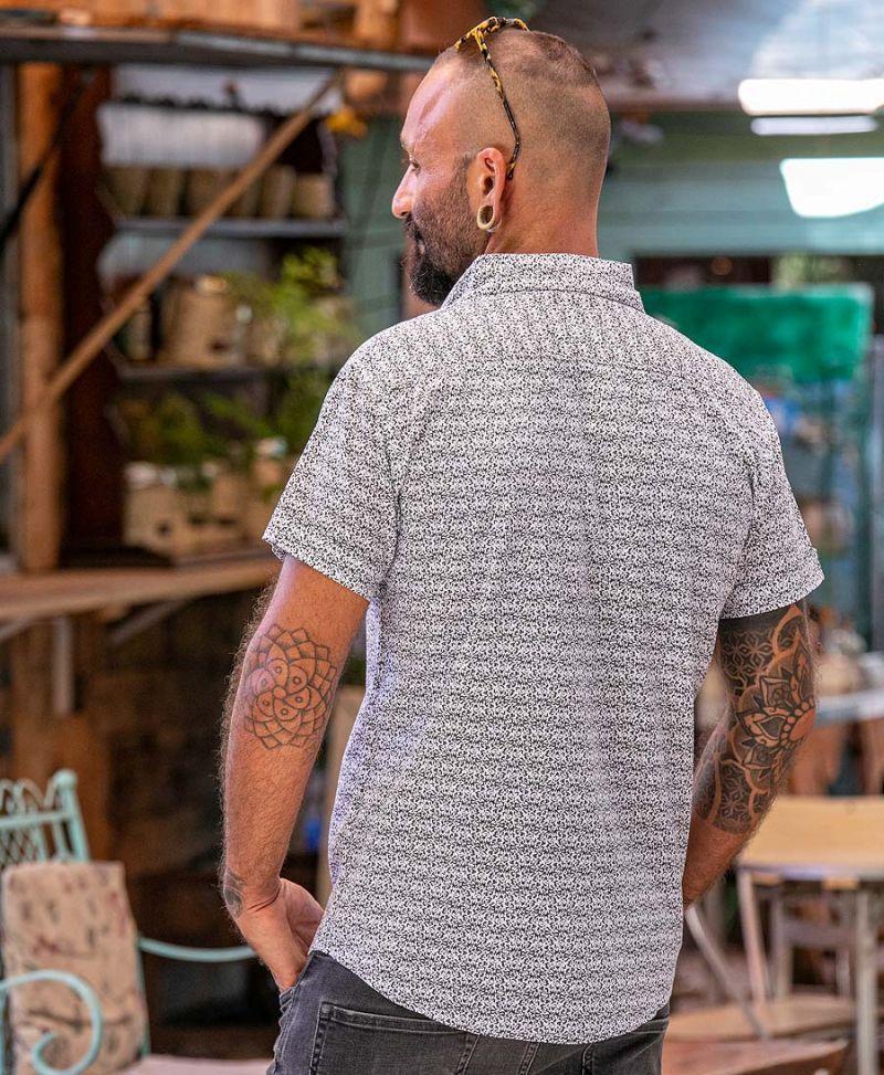 men-button-up-short-sleeve-white-cotton-shirt-streetwear-urban