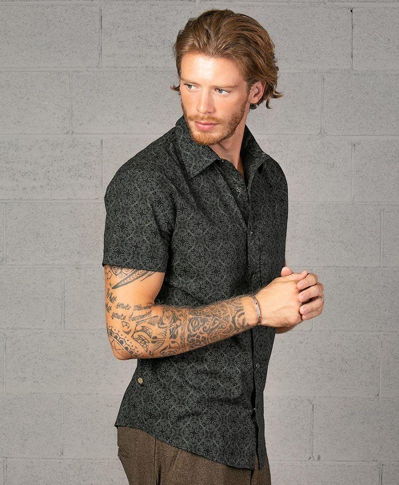 men-square-circle-sacred-geometry-button-down-shirt-psy-clothing