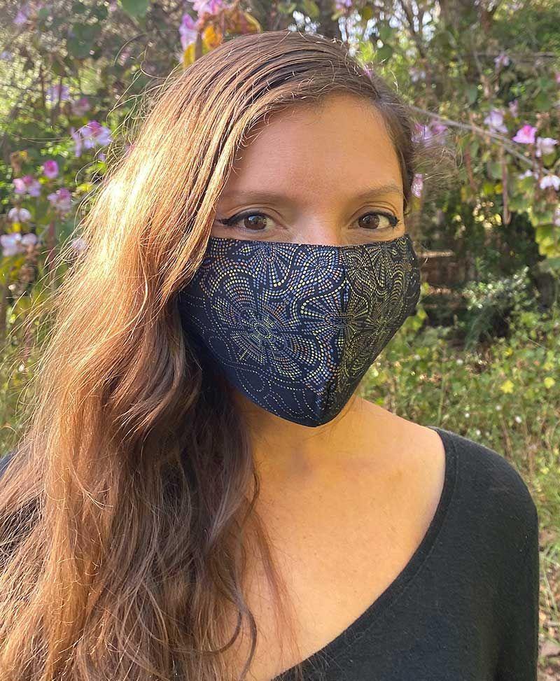 festival face mask women