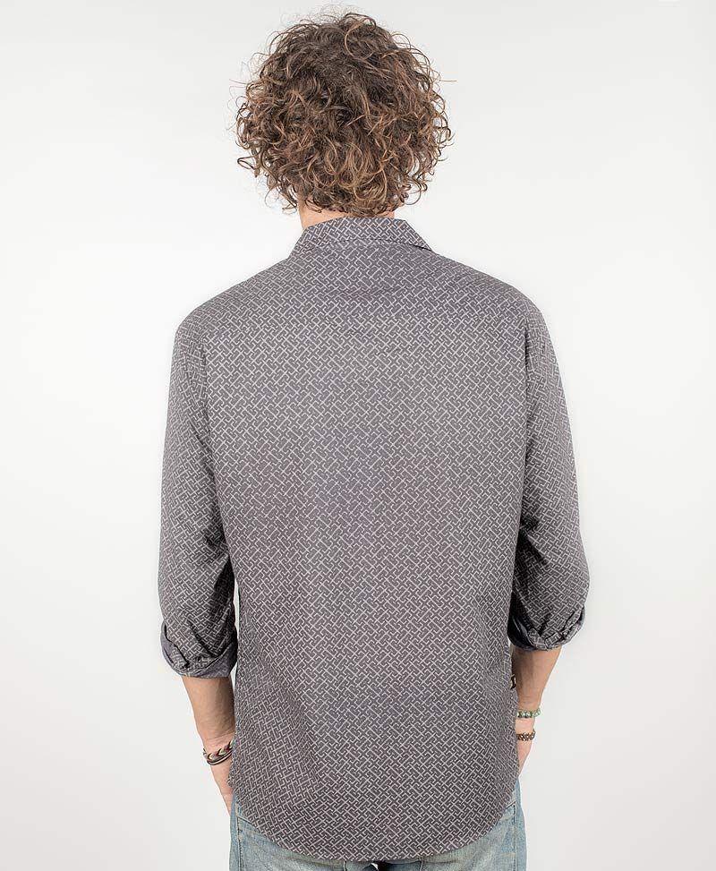 psy-clothing-men-wear-button-down-long-sleeve-shirt-grey