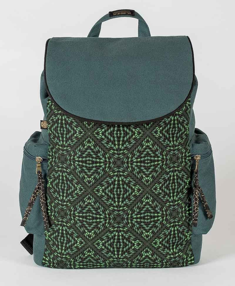 psy-trance-canvas-laptop-backpack-hexagon-uv-glow-bag