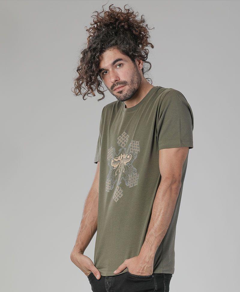sacred geometry men shirt