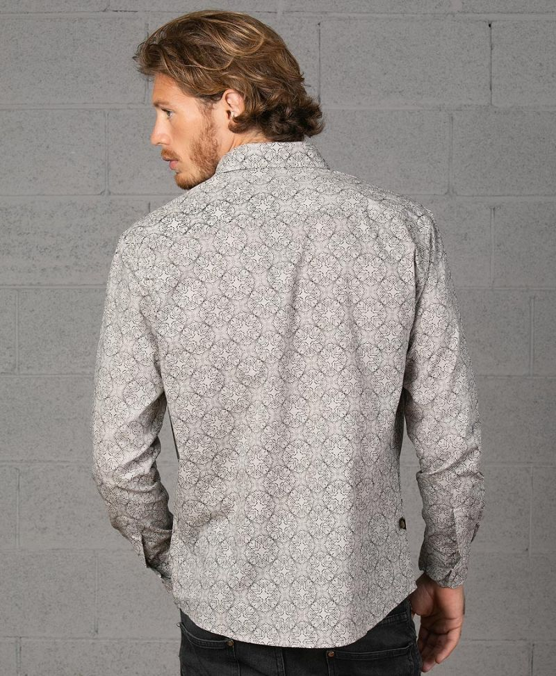 psychedelic-button-up-shirt-men-long-sleeve-white-screen-print