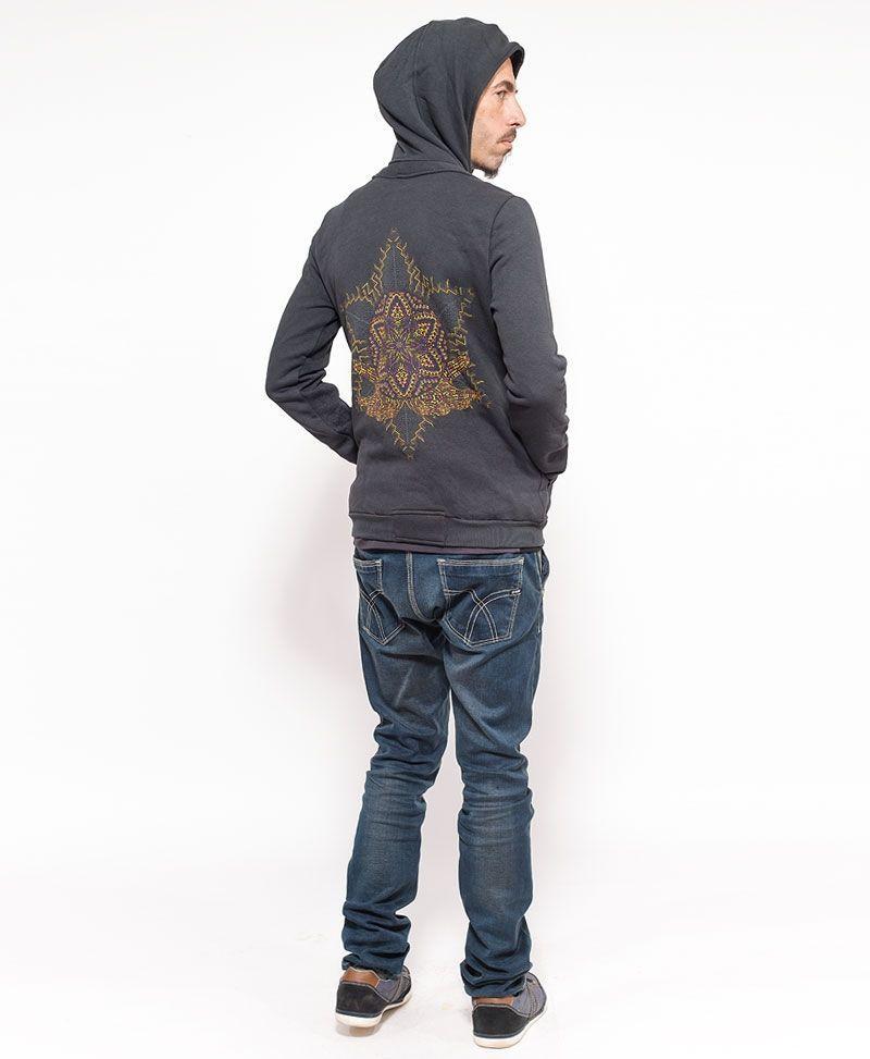 psychedelic-clothing-men-hoodie-jacket-anahata-grey