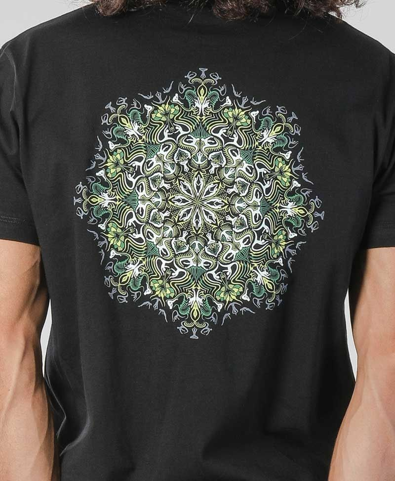 glow in the dark mens tshirt psy trance clothing