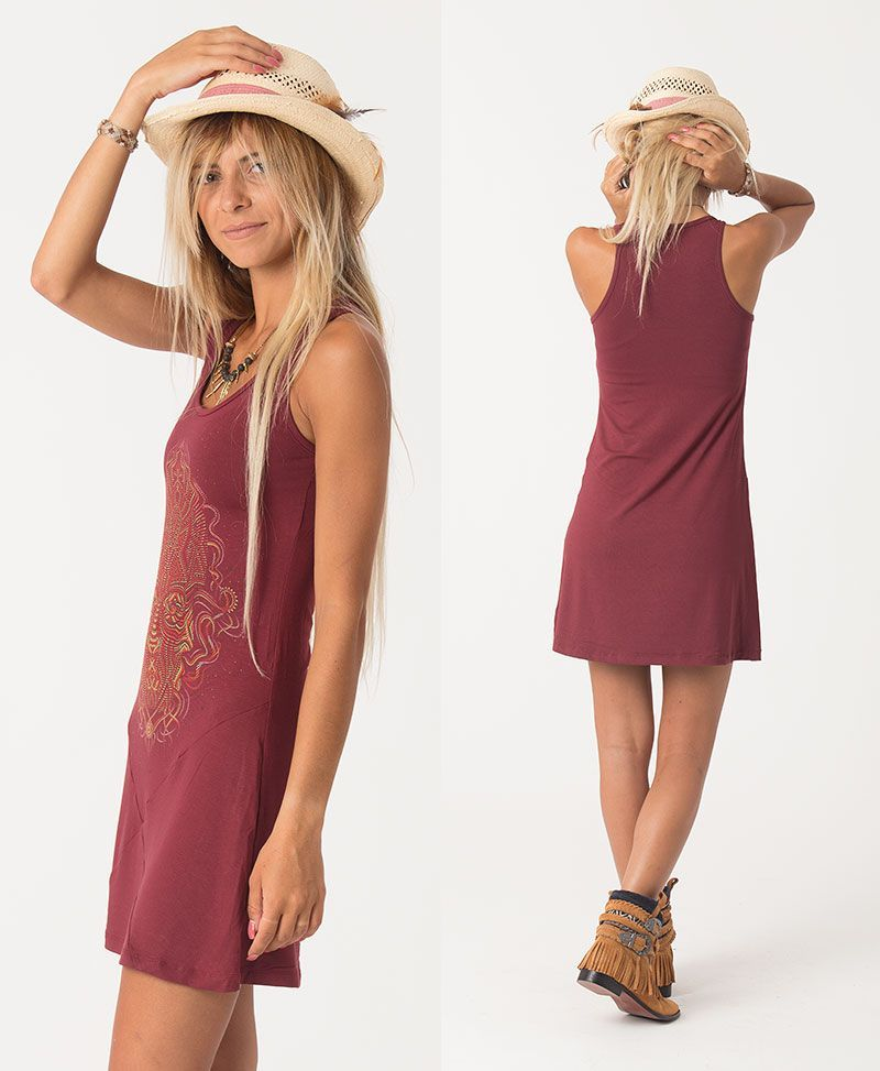 psychedelic clothing tunic dress