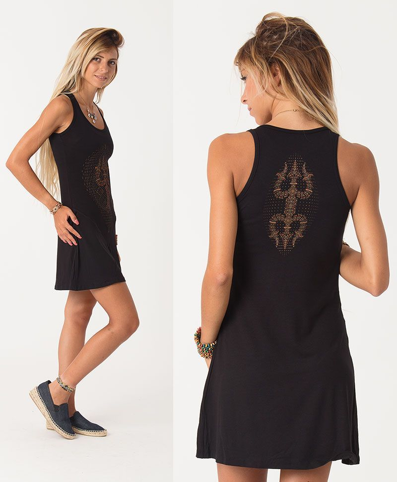 psychedelic clothing women tank dress tunic
