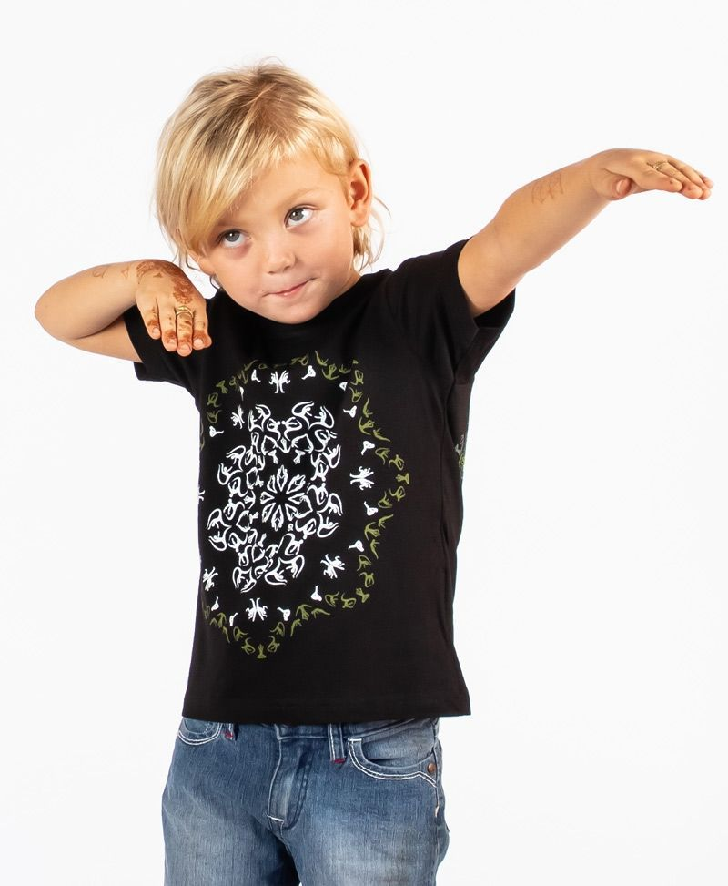 psychedelic-cool-kids-t-shirt-birthday-gift-glow-in-the-dark-mandala