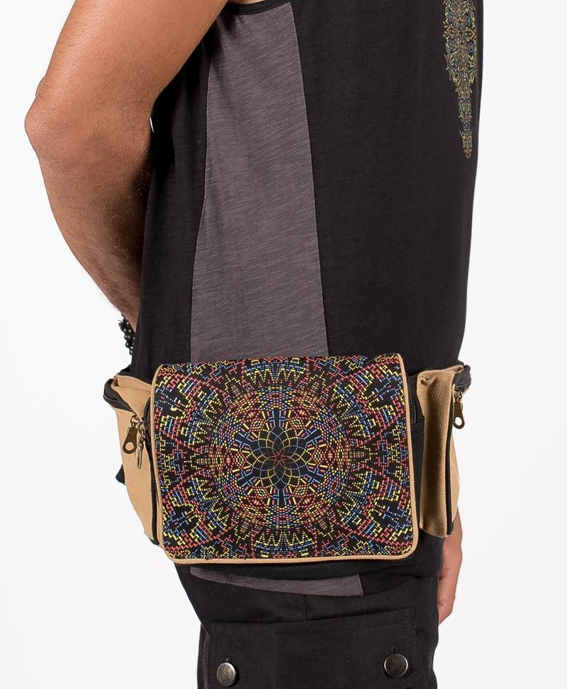 psychedelic-festival-utility-pocket-belt-canvas-hip-bag-fanny-pack-mexica
