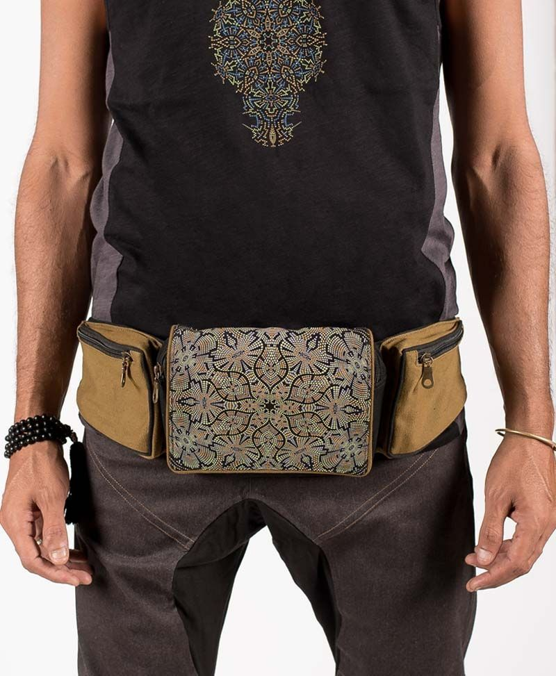 psychedelic-festival-utility-pocket-belt-canvas-hip-bag-fanny-pack-peyote