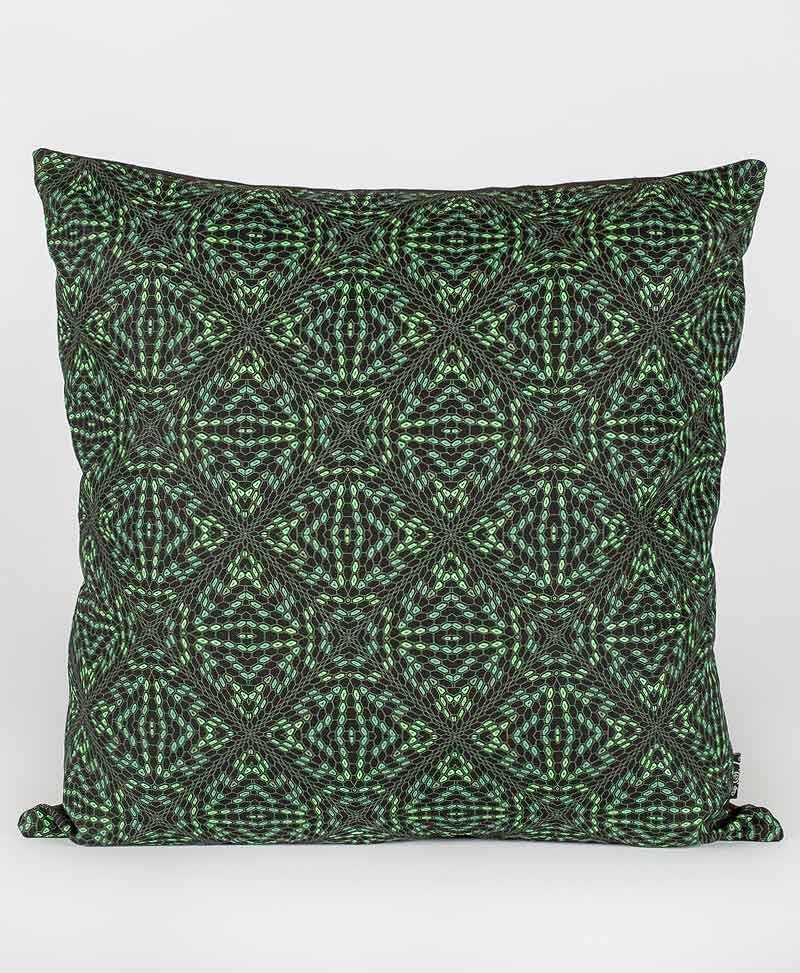 Psytrance Fashion Clothing Psychedelic Cushion Pillow Cover