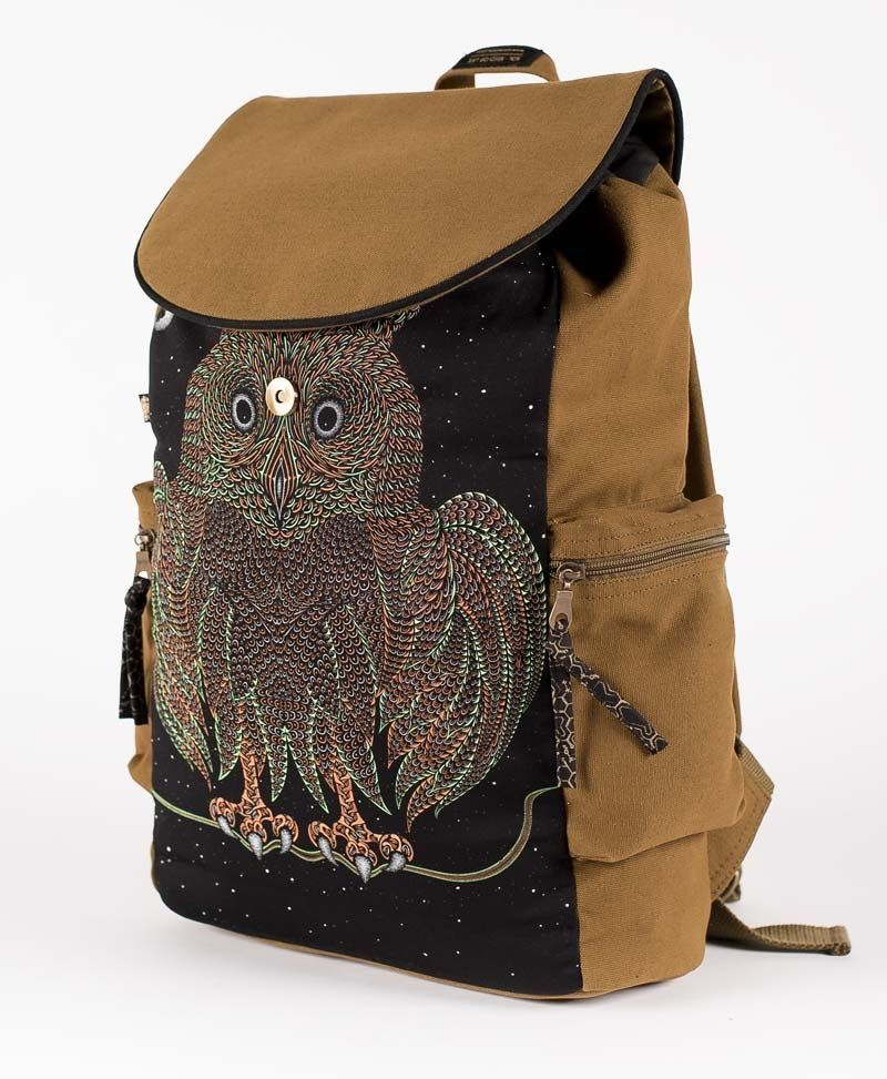 psychedelic-owl-backpack-laptop-bag-canvas-vegan
