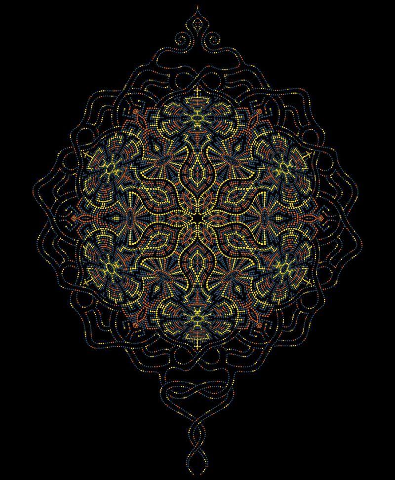 Peyote Cushion Cover