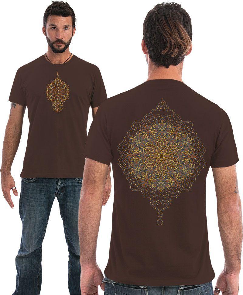 men t shirt sacred geometry clothes