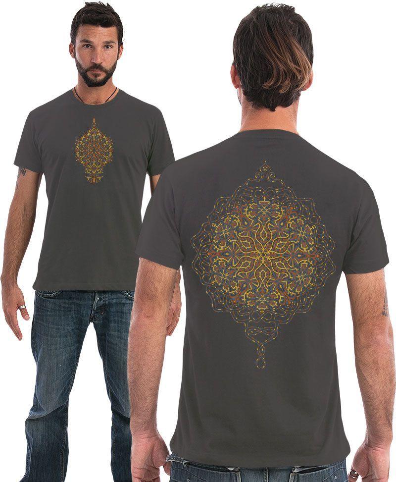 sacred geometry men t shirt
