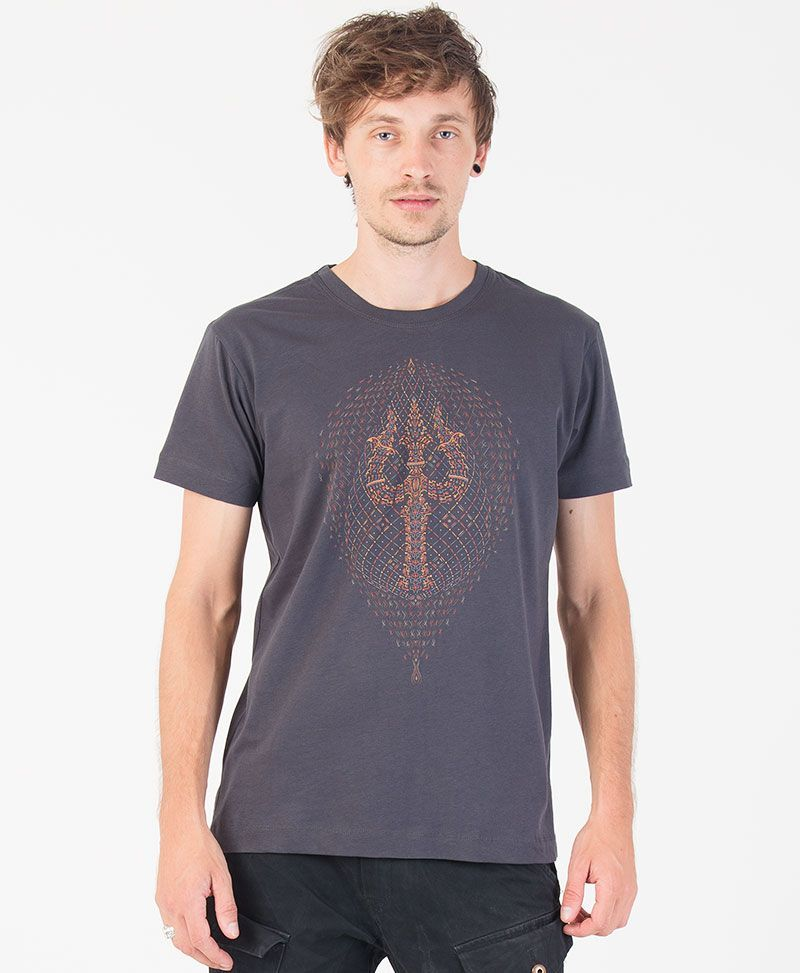 psychedelic clothing trishul men t shirt