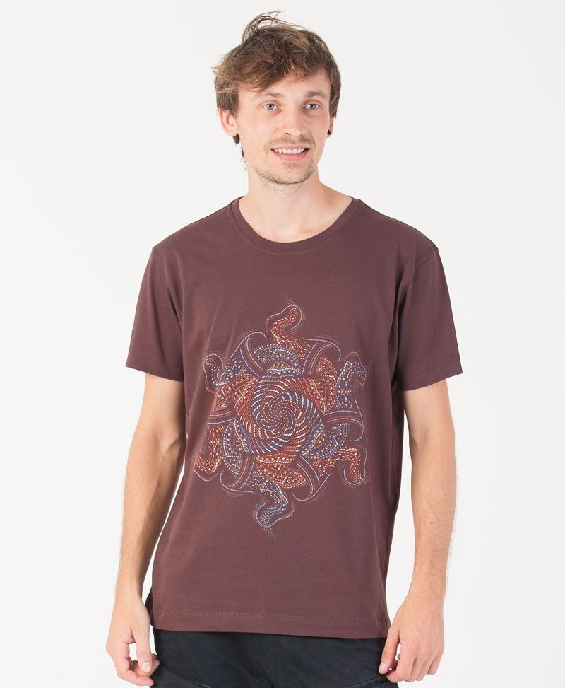 psychedelic shirt men psytrance tshirt