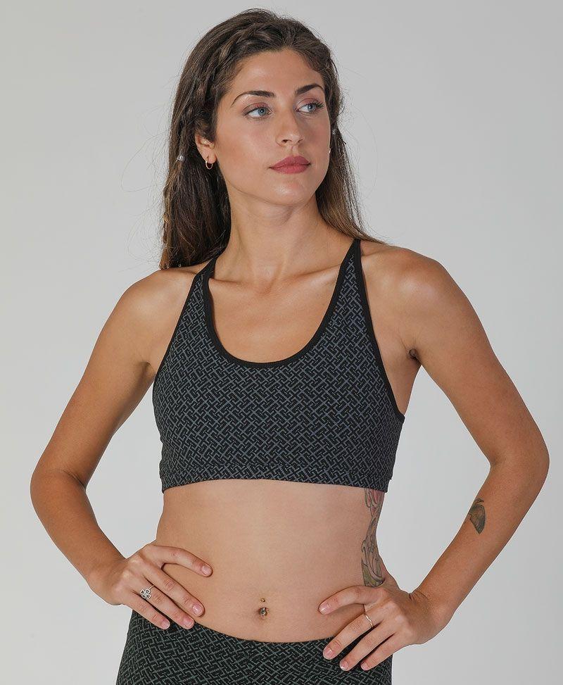 Psytrance Yoga Bra Top Women Bralette
