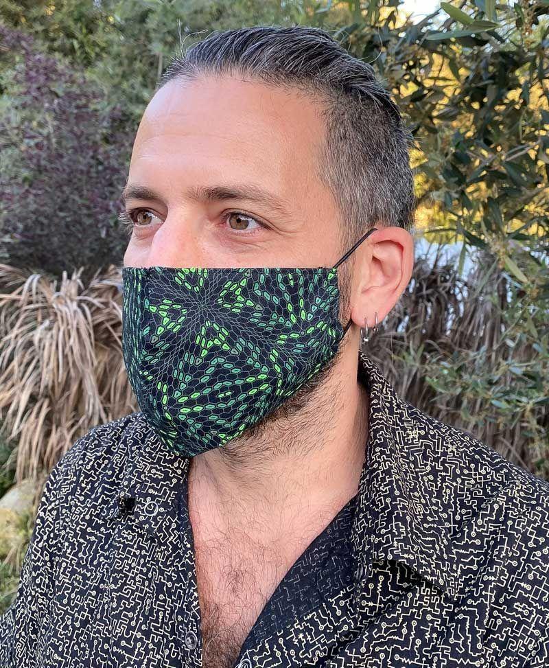 festival face mask