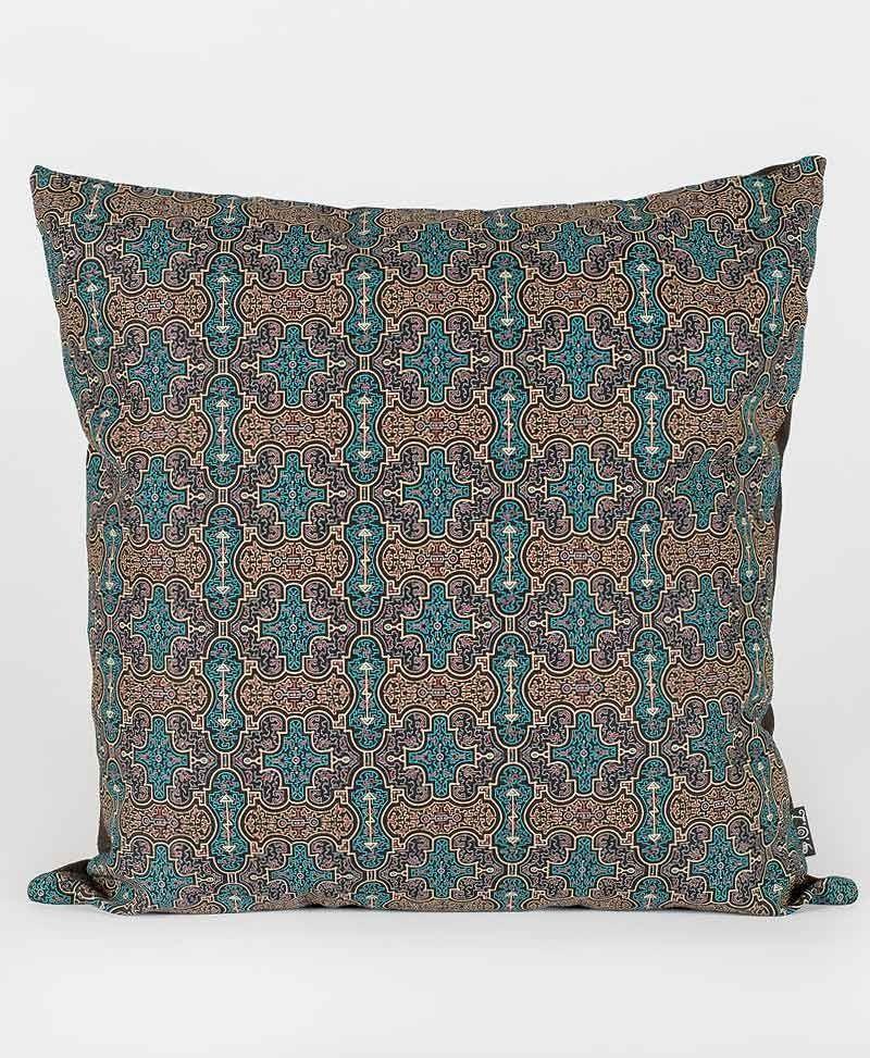 Psytrance Fashion Clothing Sacred Geometry Cushion Pillow Cover Shipibo
