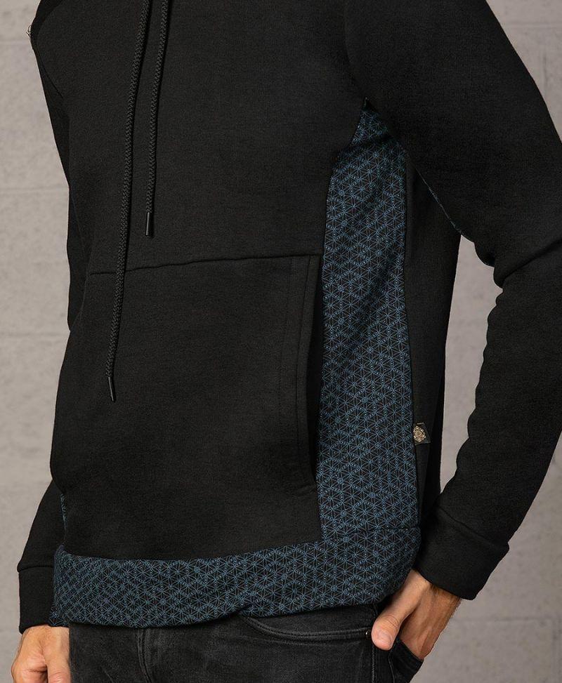 seed of life sacred geometry pullover hoodie sweatshirt