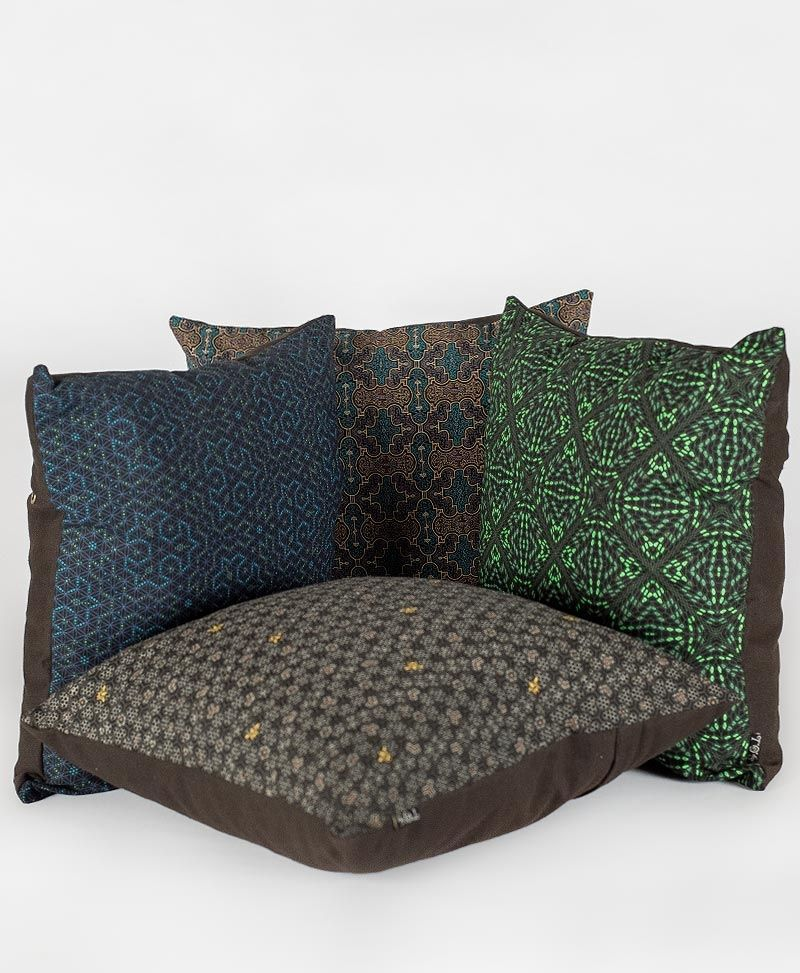 Psytrance Fashion Clothing Sacred Geometry hamsa Cushion Cover