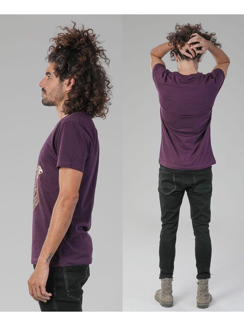 psy trance clothing men hamsa t shirt