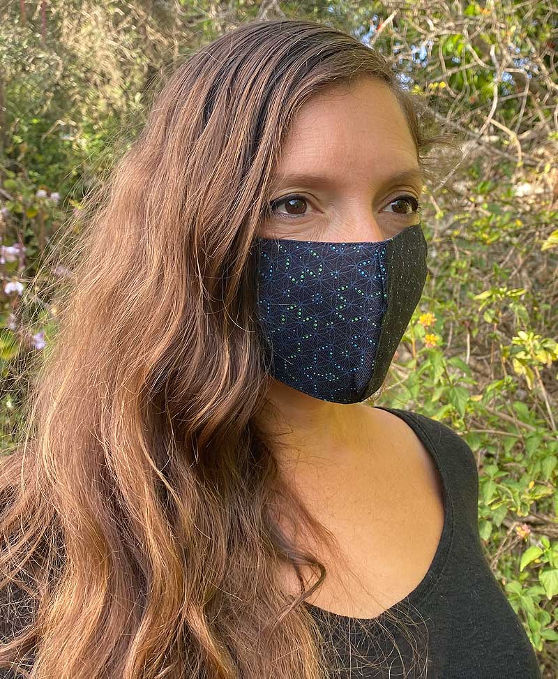 Seeds Face Mask ➟ Full Print