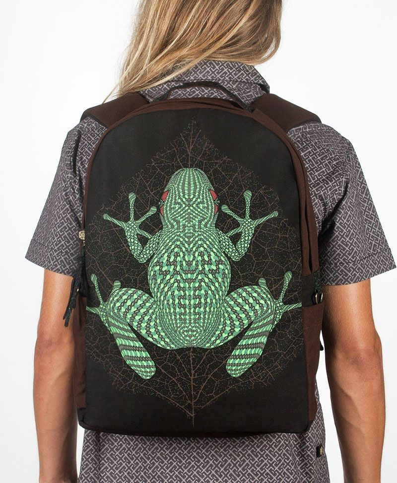 NEW Sapo Kambô Backpack- Round