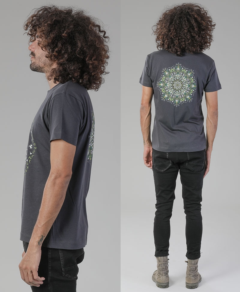 Lotusika T-shirt ➟ Black / Grey
