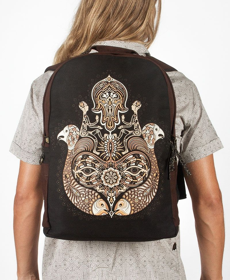 NEW Hamsa Backpack- Round