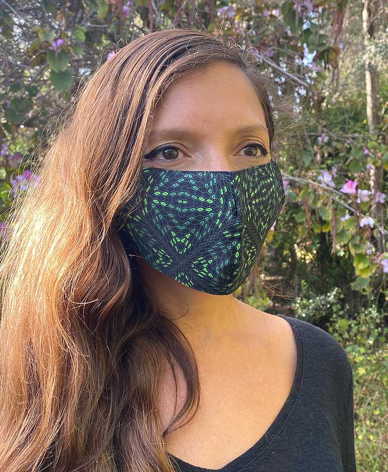 Hexit Face Mask ➟ Full Print