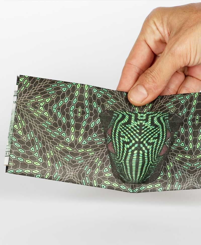 Hexit Tyvek Paper Wallet